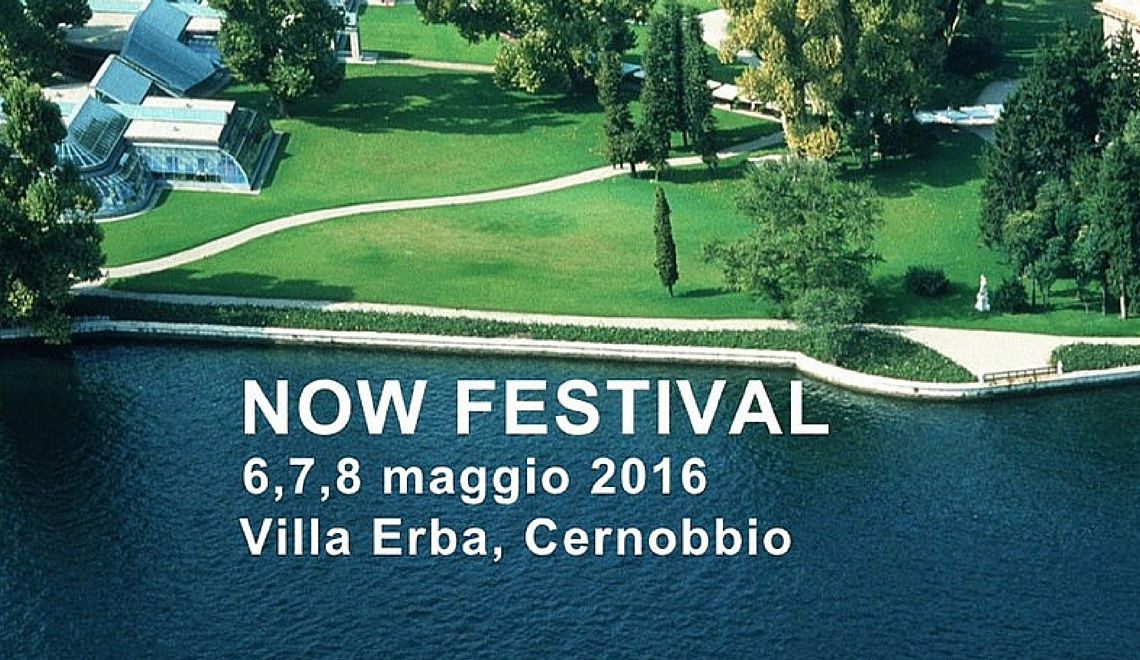 Nasce NOW il primo Festival dedicato al Futuro sostenibile